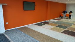 Our Resin Bound Showroom in Peterborough