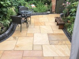 New Patio Laid in Oxford