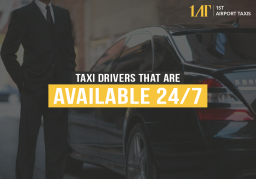 1ST Airport Taxis Banner