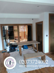 Both Tables Fully Sanded Down in London