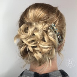 Wedding hair, Hair Hut