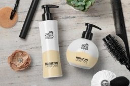Horizon Vegan Ethical Skincare Package Design