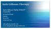 Seth Gillman Therapy
