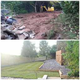 Landscaping project