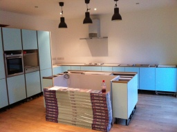 New Kitchen Installation. Winchmore Hill.