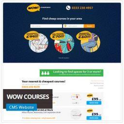 Wow Courses Website Designer