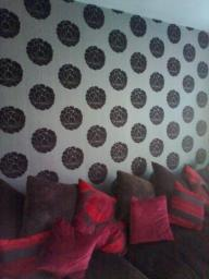 Lounge wallpapering