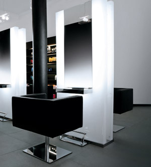 Arredamento parrucchieri e saloni genesidesign srl milano for Arredamento spa e centri benessere
