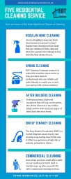 5 Residential Cleaning Services
