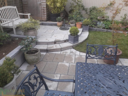 New Patio in Worcester