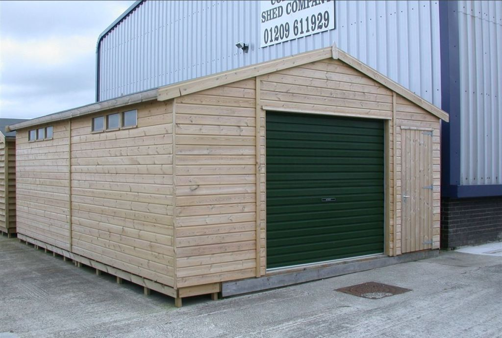 Details For Cornwall Shed Company Ltd In Formal Industrial