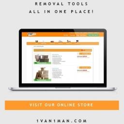 Check Out 1 Van 1 Man Removals - Box Shop