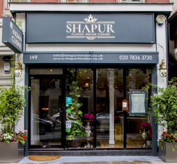 Our branding for Shapur Indian Restaurant