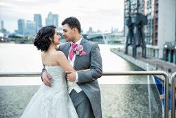 Asian civil wedding photographer in london
