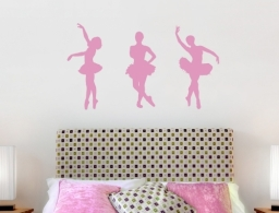 Ballerina Wall Stickers