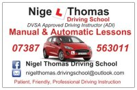 Nigel Thomas Driving School