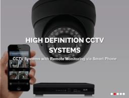 High Deffinition CCTV Systems
