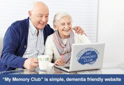 My Memory Club Dementia Friendly Website