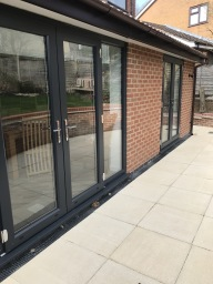 Single storey extension in Leicester