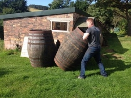 Roll out the barrels in Edinburgh