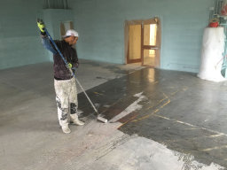 Industrial Floor and Metal Work Painting