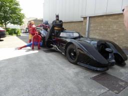 BATMAN BRADFORD SUPER HERO MASCOT COSTUME