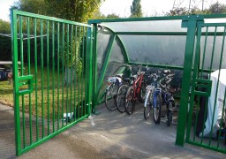 Secure Bike Storage Shelter