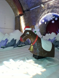 Rodeo Reindeer with Snow bed