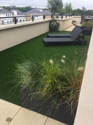 Artificial Grass on a Balcony in London