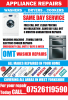 OMT Washer Repairs