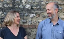 Nick Stickland and Caroline Wright