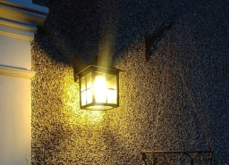 Outdoor light in Blyth