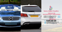 Mercedes E-Class Chauffeur - Guildford Airport Tra