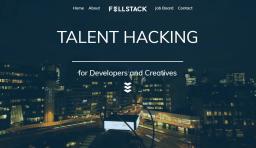 Fullstack Website