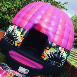 Adult Pink & Purple Disco Dome