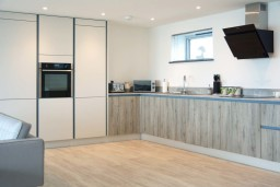 Now Kitchens, rental property Cornwall Porthleven