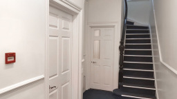 low cost letter box hallway