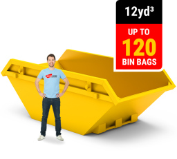 12 CUBIC YARD MINI SKIP