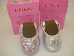 Lelli Kelly Magiche Shoes. Soft flexible ballerina pumps that fold up small.