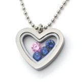 Dainty Small Heart Floating Locket