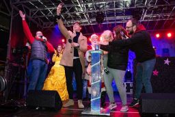 Evana Light Switch On Wigan Town Centre 15/11/18