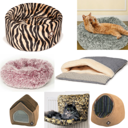 great selection of cat bedding