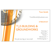 T.j.s building & groundworks