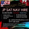 JP Sat Nav Hire