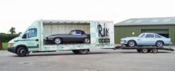 Rudler: Jaguar E Type & Aston Martin BD4