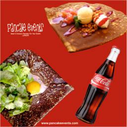 Coca Cola London, creperie London, pancake caterer