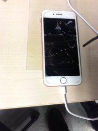 Broken iphone needing repair