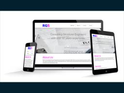 Responsive Website | RG Structures