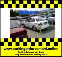 Parking Enforcement Signs | No Parking Sign | Car