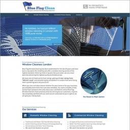 Blue Flag Clean Website